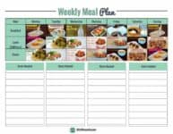 Your FREE low carb meal plan and all easy to follow plan to start low carb today. | ditchthecarbs.com