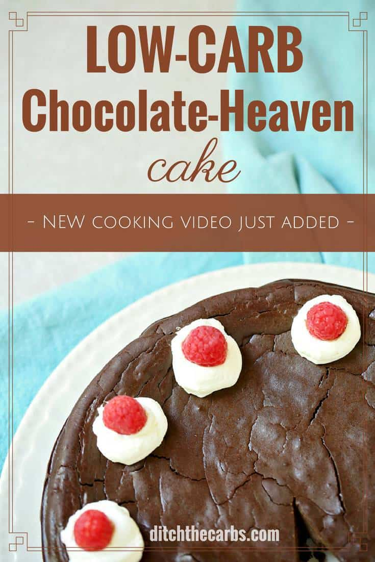THE BEST LowCarb ChocolateHeaven Cake on the internet amazing