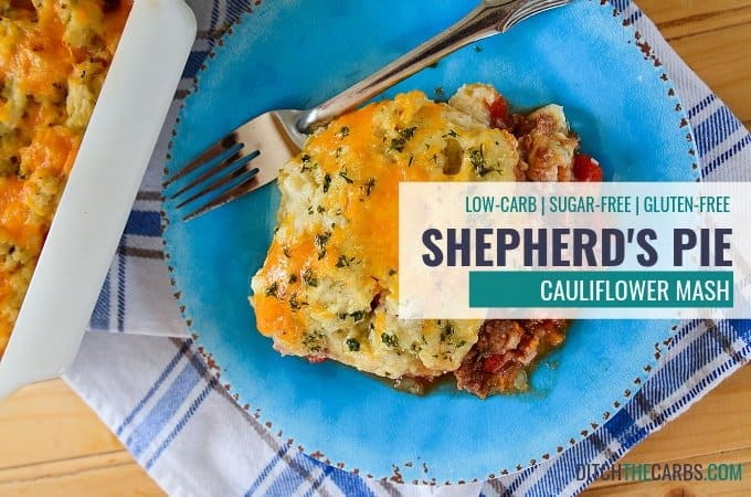 Low-Carb Shepherd's Pie Recipe Using Cauliflower Mash