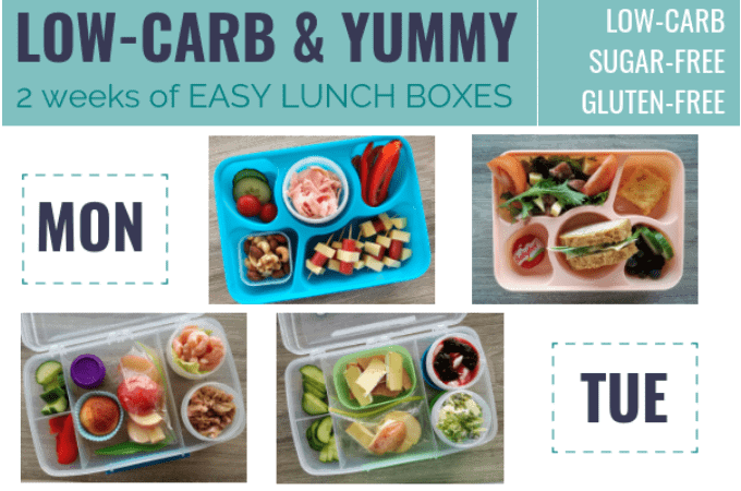 Low Carb Kids 2 Weeks Of Lunch Boxes So You Can Start Today