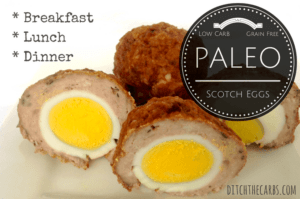 Paleo Scotch Eggs | ditchthecarbs.com