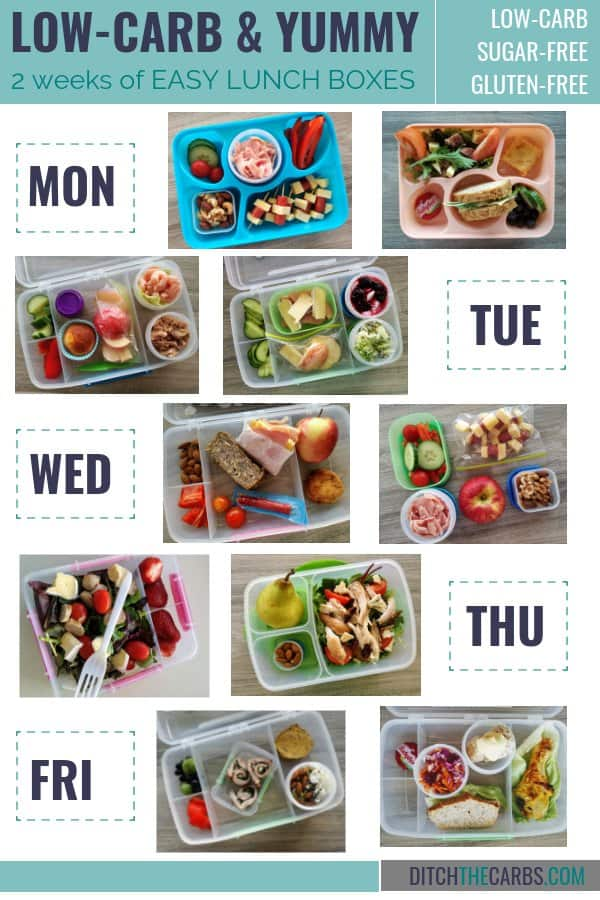 How to make low-carb lunch boxes. How to pack healthy lunch boxes. How to pack sugar-free lunch boxes. Low-carb kids. #sugarfreekids #healthylunchboxes #lowcarblunches #ketolunches #glutenfreelunch