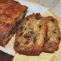 Chocolate, Date and Banana Bread | ditchthecarbs.com