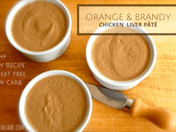 Orange and Brandy Chicken Liver Pate | ditchthecarbs.com