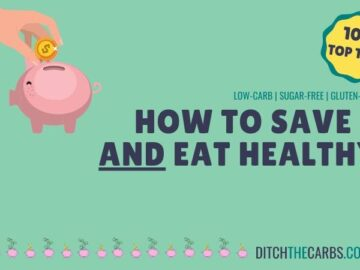 How to Save Money AND Eat Healthy Infographic