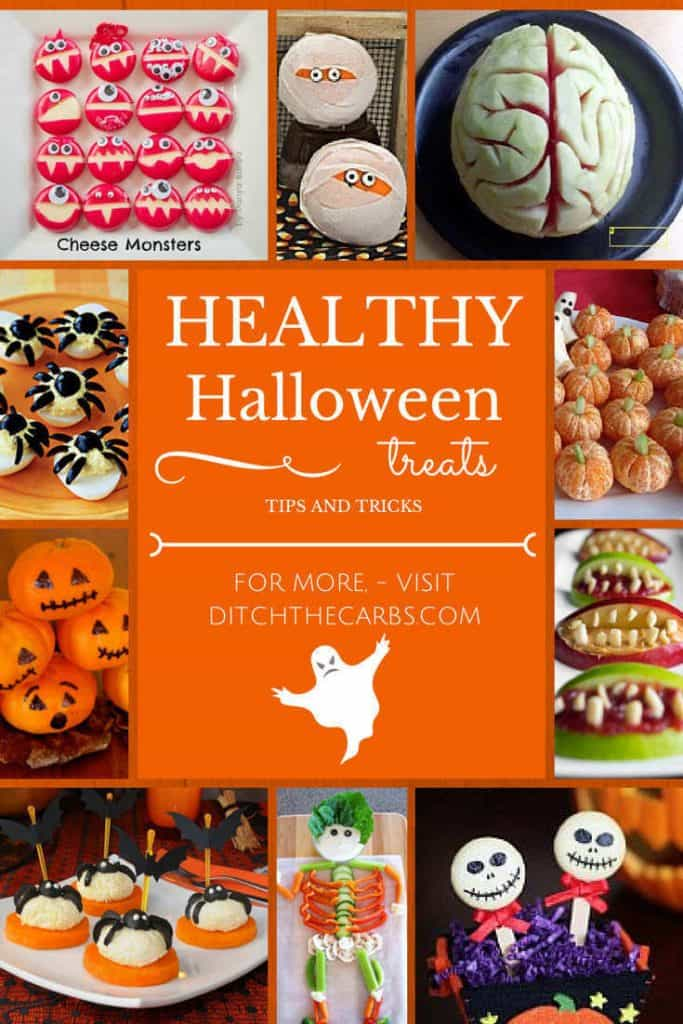 Healthy Halloween Treats | ditchthecarbs.com