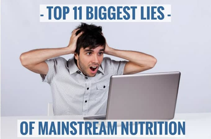 Top 11 Biggest Lies Of Mainstream Nutrition. Read a brilliant article from Authority Nutrition. Why we should avoid seed oils, eat more eggs and cut back on sugar and carbs. | ditchthecarbs.com
