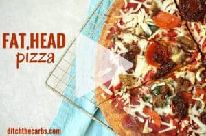 Fat Head Dough Calzones - the perfect keto meal - 1 6g net carbs