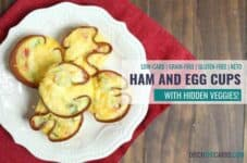 Delicious low-carb ham and egg cups. #ditchthecarbs #lowcarbbreakfast #sugarfree #healthyrecipes