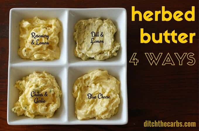 Herbed Butter 4 Ways