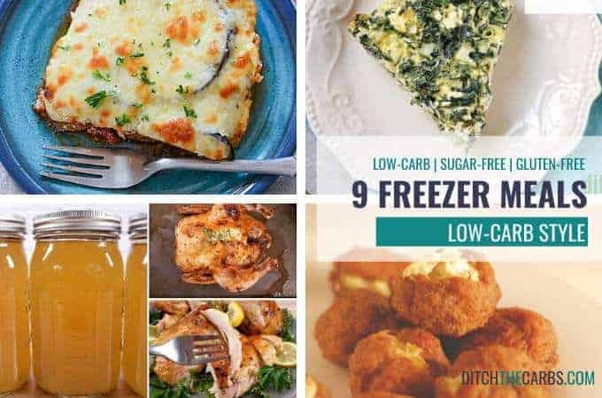 low-carb freezer meal