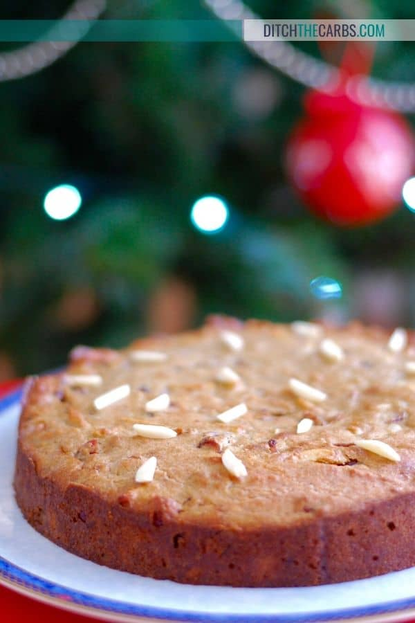 Low-Carb Christmas Cake Recipe