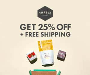 Grab an extra 25% off at Thrive market. Organic and non-GMO groceries and bargain prices, straight to your door. | ditchthecarbs.com