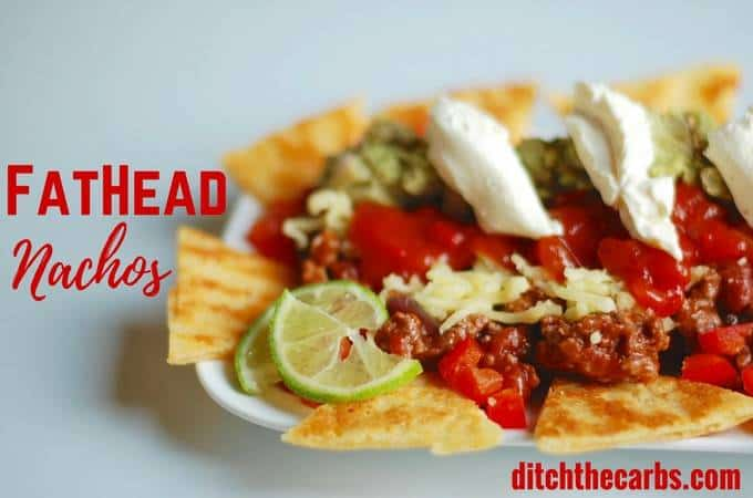 Fat Head Nachos