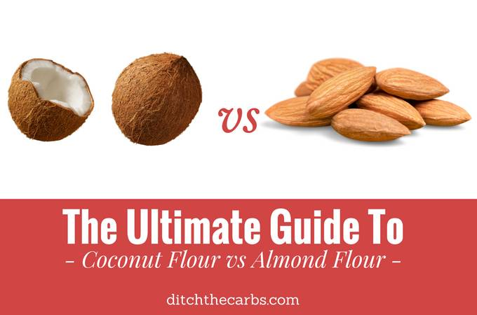 The Ultimate Guide To Coconut Flour vs Almond Flour