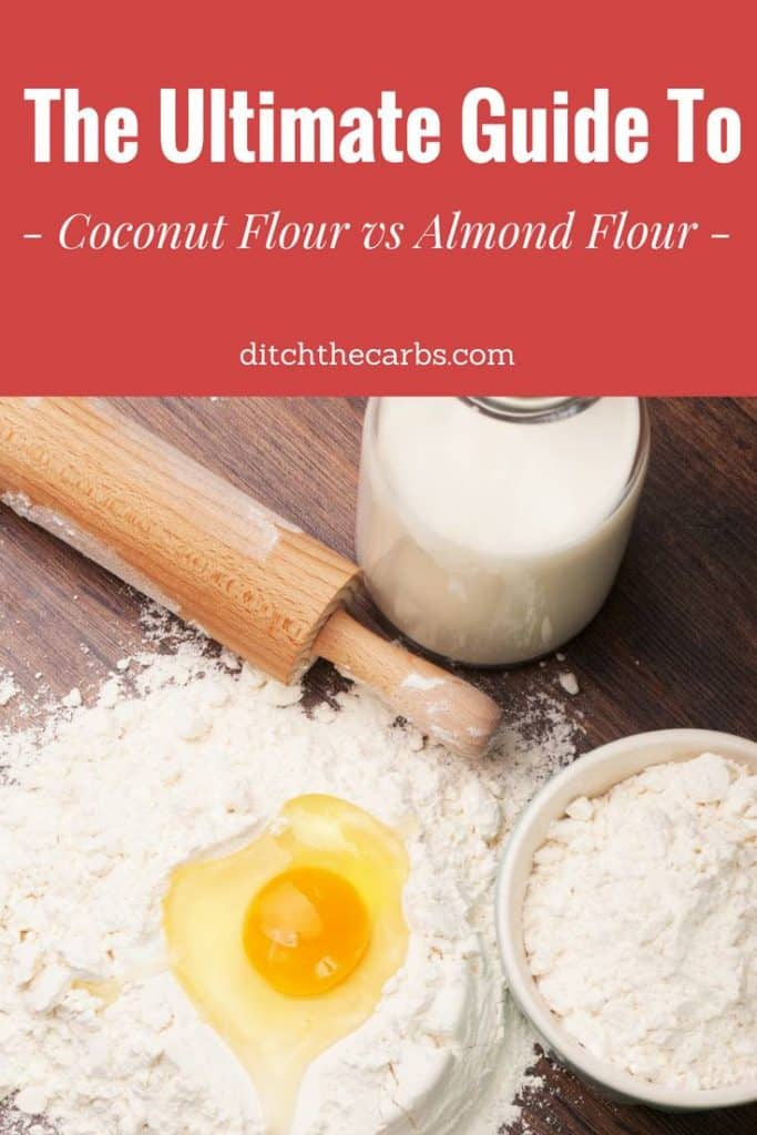 Coconut flour vs almond flour. See the 3 reasons why I am making the change to more coconut flour based recipes. #coconutflour #keto #lowcarb #sugarfree #healthybaking #healthyrecipes