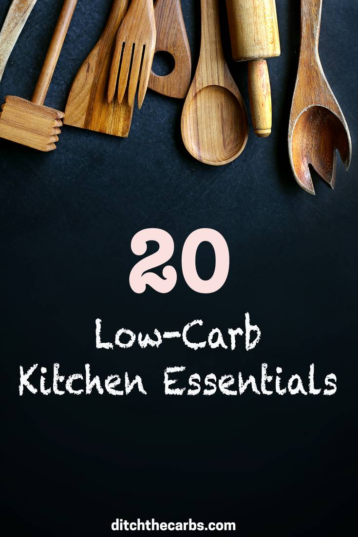 The top 20 low-carb kitchen tools you need to be successful and which make life easier. | ditchthecarbs.com