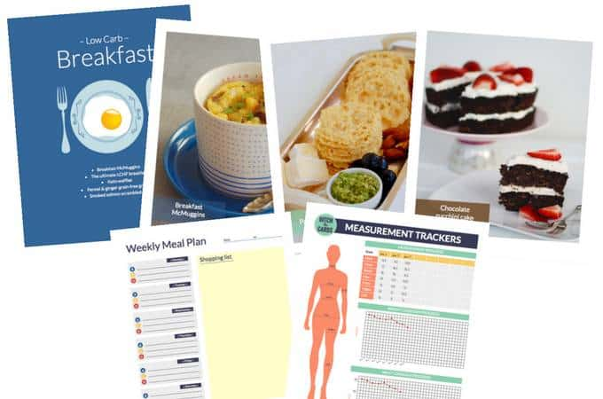 Low-carb starter pack - the complete beginners' guide. 25 easy recipes, menu plan, shopping lists, easy to understand guides. | ditchthecarbs.com