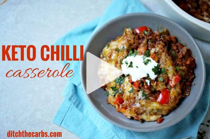 Easy Keto Chilli Casserole