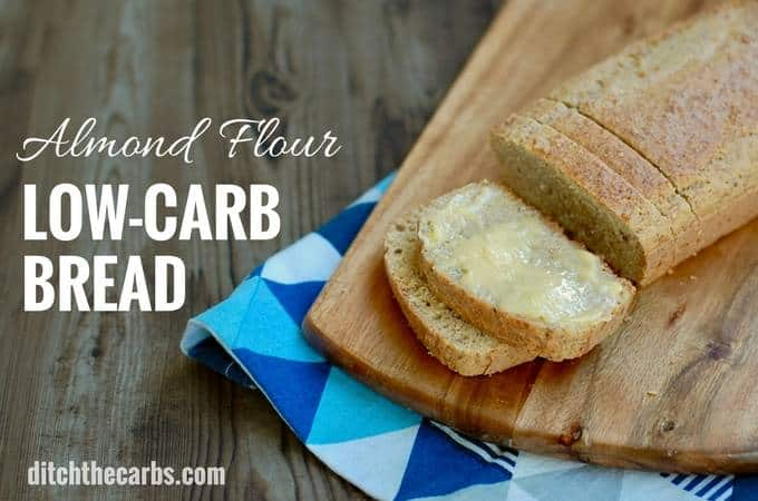 The FAMOUS 2-step method for making easy this healthy low-carb almond flour bread