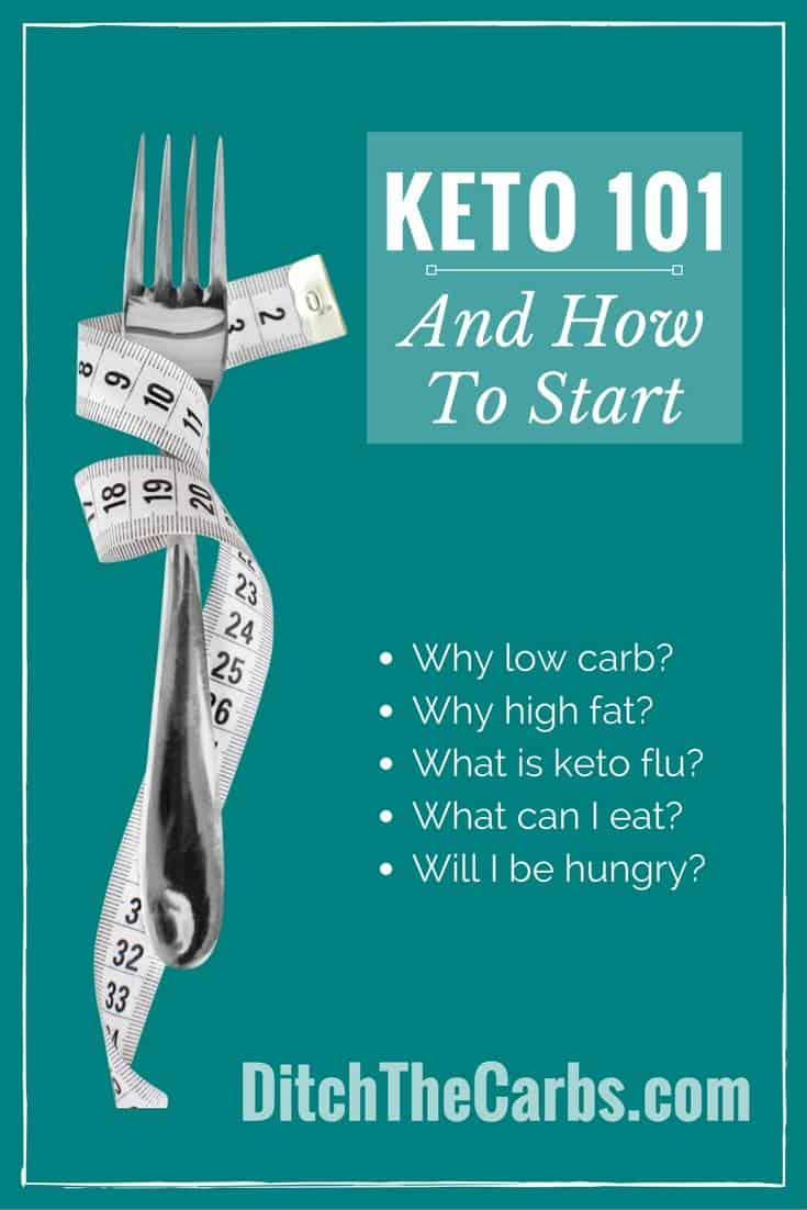 What is a keto diet? How do you start a keto diet? What to eat on a keto diet? #keto #lchf #grainfree #loseweight #diet  #glutenfree #lowcarb | ditchthecarbs.com