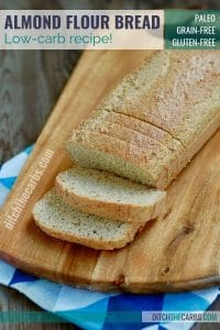 healthy low-carb almond flour bread recipe