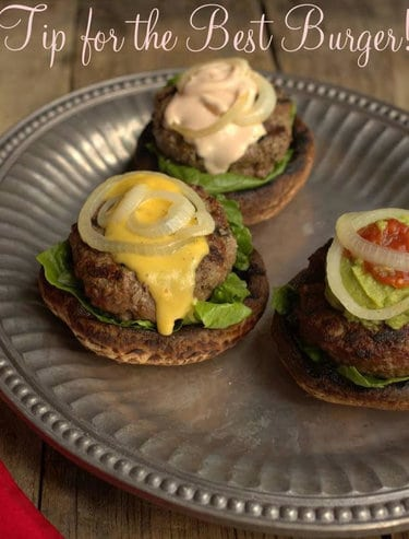 Top 50 Bunless Burger Recipes for low-carb burgers. #lowcarb #keto #glutenfree #grainfree #sugarfree | ditchthecarbs.com