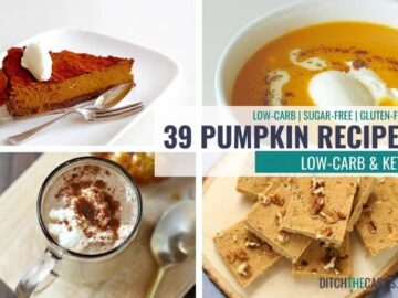 Low-Carb and Keto Pumpkin Recipes