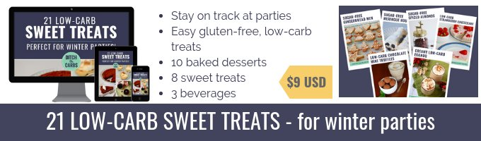 21 Low-Carb Sweet Treats mockup sales footer