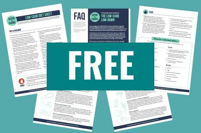 The best low-cab FAQ and printable diet sheet. FREE resources to get you started today. Sugar free, gluten free, grain free life awaits you. | #lowcarb #keto #howtostartketo #howtostartlowcarb