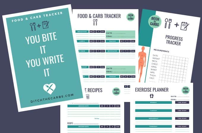 food carb tracker finally a printbale tracker that actually works