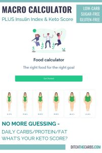 NEW amazing macro calculator with insulin index and KETO score. #keto #howtostartketo #macrocalculator #howtostartlowcarb #ditchthecarbs #ketocalculator #carbcounting