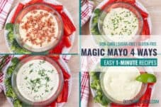 Wow! It is really is magic and so delicious! #magic1minutemayonnaise #mayo4ways #ditchthecarbs #lowcarb #keto #glutenfree #sugarfree #healthyrecipes #familymeals
