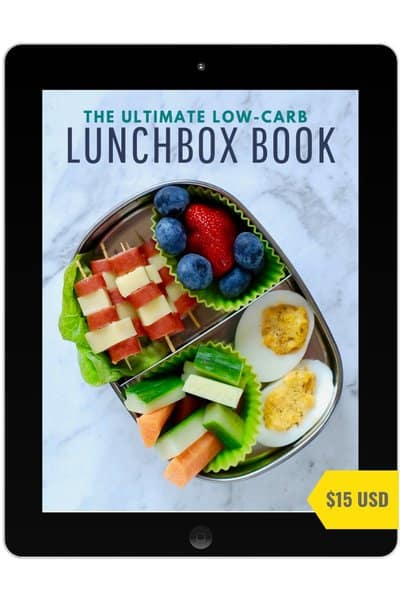 Ultimate low-carb lunchbox book ipad