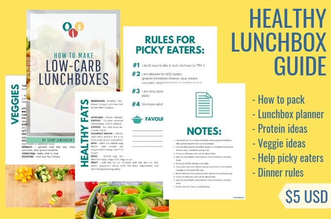 Ultimate low-carb lunchbox book guide