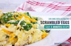 Easy 2-Minute Scrambled Eggs.