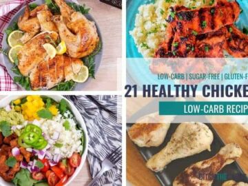 21 yumy low-carb chicken recipes