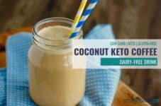 The BEST coconut keto coffee dairy-free