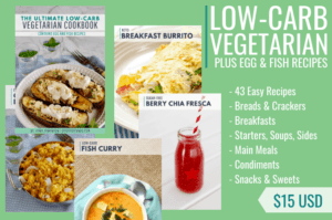 The Ultimate Low-Carb Vegetarian Cookbook