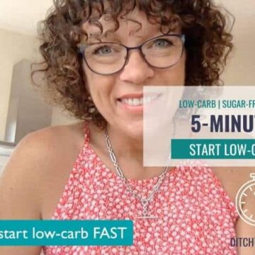 how to start low-carb FAST!