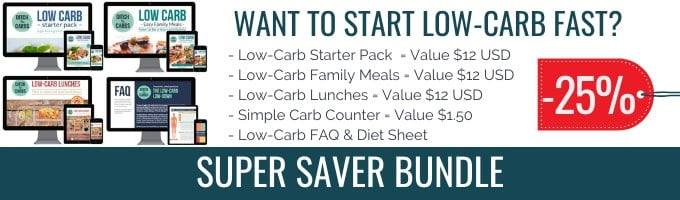 Low-Carb Ultimate Bundle - save today and start your low-carb diet FAST