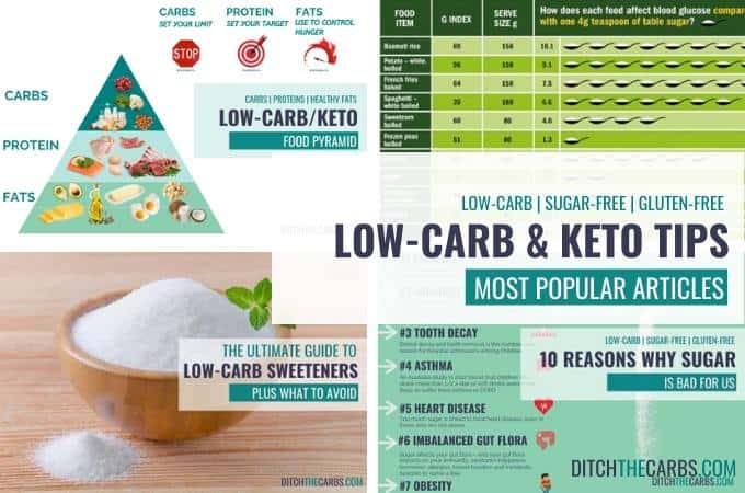 Low-carb and keto tips