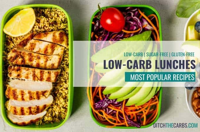Low-carb lunch recipes
