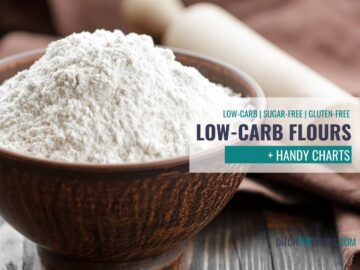 The Ultimate Guide to Low-Carb Flours
